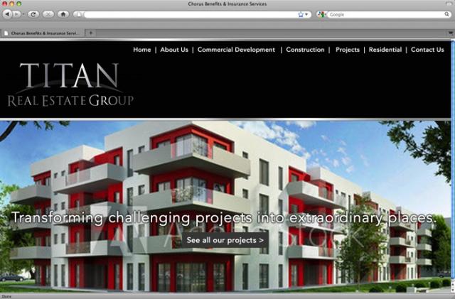 website designs real estate